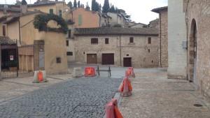 Foto lavori da Piazza Vallegloria a Porta Montanara