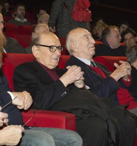 Ennio Morricone e GIuliano Montaldo
