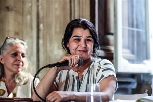 Nessrin Abdalla Comandante Curdo dell'Unita' di Protezione Popolare delle Donne