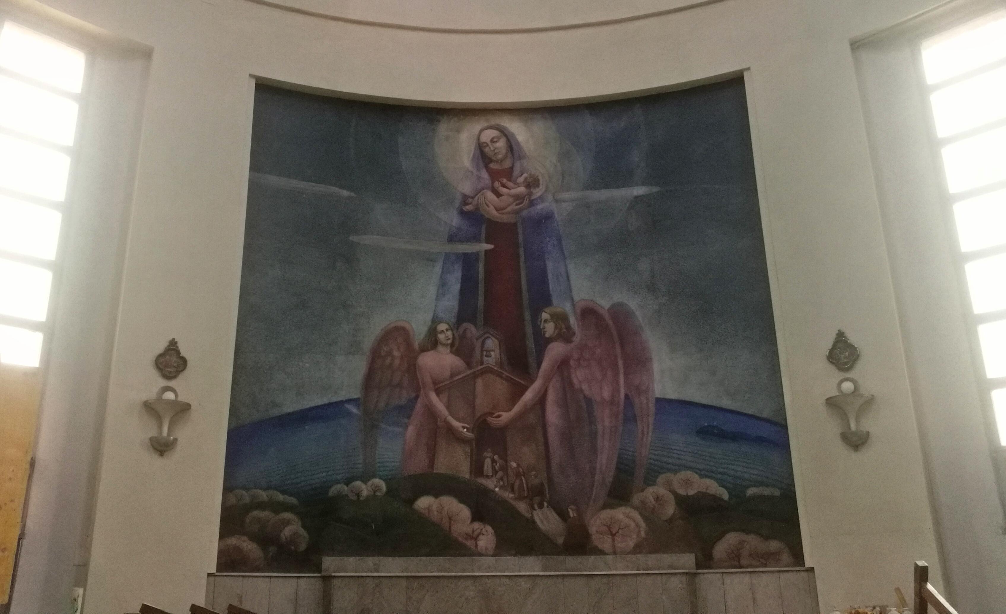 Dipinti Murali Per Interni : Perugia restaurati i dipinti del dottori umbriacronaca