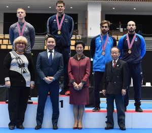 Tokyo, 26 january 2019   World cup foil men  II day  photo Augusto Bizzi