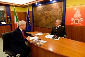L'ing. Michele Zappia durante l'intervista con il nostro inviato
