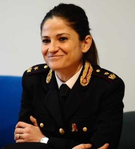 Francesca Di Luca, dirigente del Commissariato di Assisi