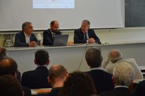 Da-sinistra Alberto-Diomedi, Massimiliano Gioffre_ e Roberto Baliani