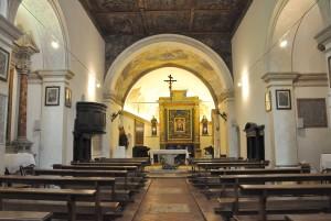 Santa Maria delloro, interno