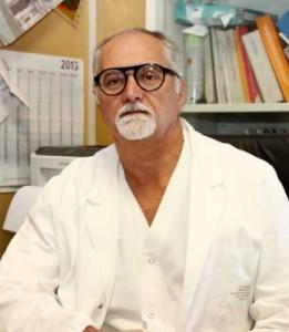 Il Prof. Sandro Latini, direttore ortopedia e traumatologia dell'ospedale di Terni