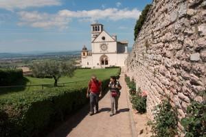 Via di Francesco - Assisi - Sacro Convento e Basilica