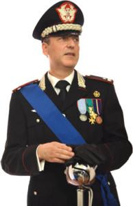 Il generale di Brigata Massimiliano Della Gala, comandante i Carabinieri dell'Umbria