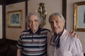 Zakhar Bron e Peter Hermes