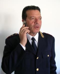 Il vice Questore dirigente del commissariato di Foligno, dott Bruno Antonini
