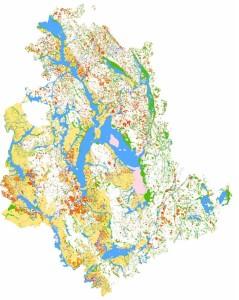 Zone amplificazioni sismiche in Umbria