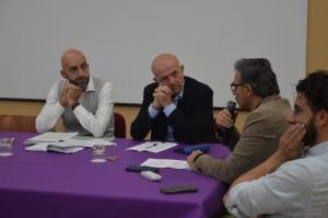 Da sinistra Bianconi , Chianella, Cecchetti e Bizzarri