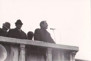 Pietro Conti, primo presidente della Giunta regionale dell'Umbria