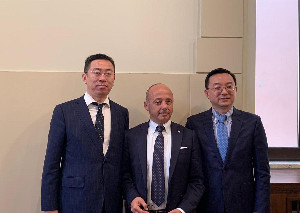 Joint venture Terni Cina Lv Dong-Gianluca Bellavigna Ren Weidong