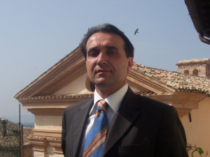 Il sindaco Moreno Landrini