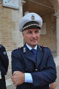 Il omandante della Polizia Locale, dott. Antonio Gentili