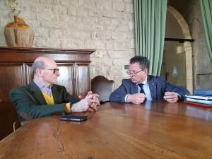 Morroni_con Stirati sindaco di Gubbio