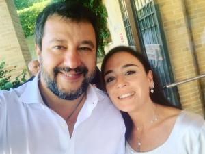 Salvini con Alessandrini