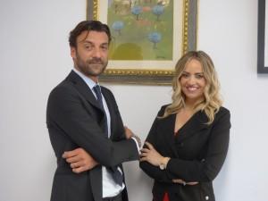 Roberto Girolmoni e Giulia Rosi