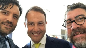 Nella foto da sinistra Avv. Matteo Fortunati, Dott. Danilo Iervolino, Prof. Calogero Di Carlo