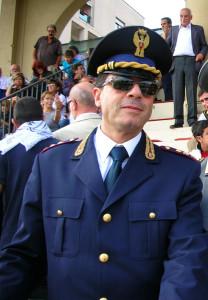Il dirigente del commissariato di Foligno, dott. Bruno Antonini