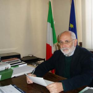 Il sindaco Bernardino Sperandio