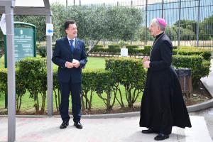 Il Direttore Giuseppe Mazzini e l'Arcivescovo Boccardo