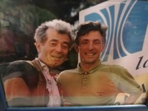 Gino Goti e Francesco Moser (1991)