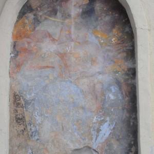 Edicola san Carlo prima del restauro
