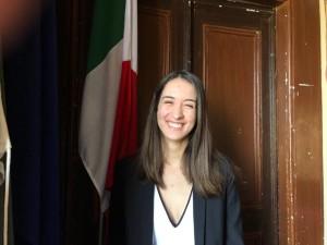 L'assessore alla pubblica istruzione, Sara Motti