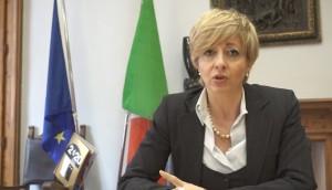 Il sindaco Francesca Mele