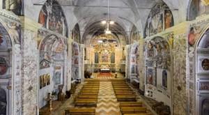 Interno chiesa b.v.Maria assunta in Monteluce di Perugia