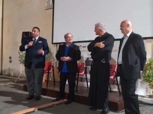 Serata finale di medicinema 2020 - intervento del sindaco di Todi Antonino Ruggiano