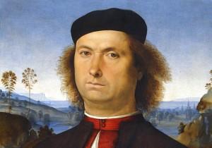 """Pietro Perugino, il """"Divin pittore"""" di dolci Madonne.  Ritratto di Francesco delle Opere."""