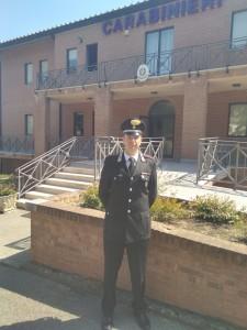 Vapitano Csneschi, comandante la compagnia Carabinieri di Città della Pieve