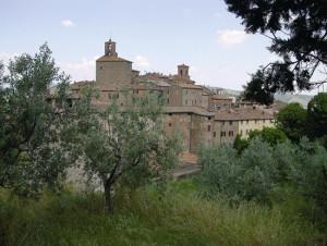 Il borgo medievale di Panicale