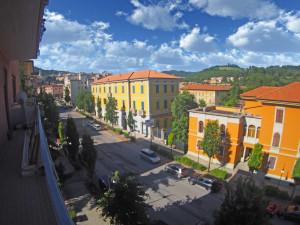 Spoleto, viale Trento e Trieste