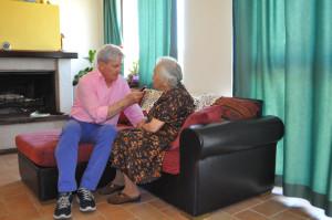Palmira Frasconi intervistata da Gilberto Scalabrini