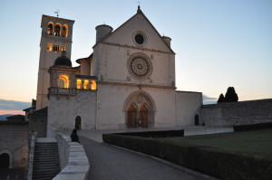 assisi notte