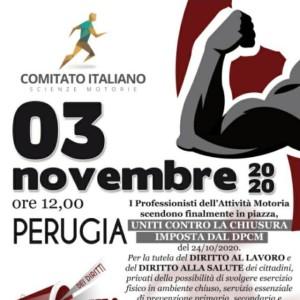 comitato nazionale scienze motorie_3novembre a Perugia
