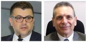 I  due commissari straordinari dr. Massimo De Fino e Pasquale Chiarelli