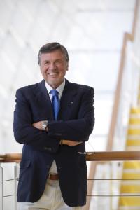 L'industrialem Gianluigi Angelantoni, Presidente della Società