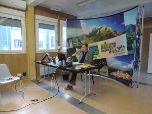 Andrea Spaterna, Presidente del Parco dei monti Sibillini
